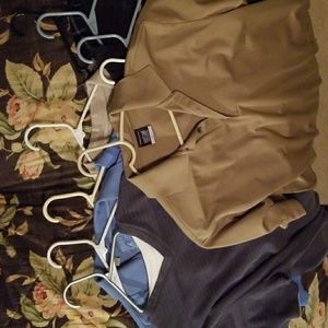 Men's casual pull over and golf shirts